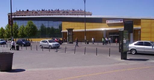 Nueva Estación de Getafe. Foto: jorgegetafe