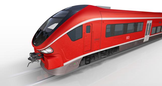 Reproducción a ordenador de los nuevos trenes. Imagen: © PESA.