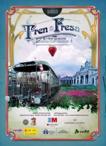 Cartel del Tren de la Fresa 2013