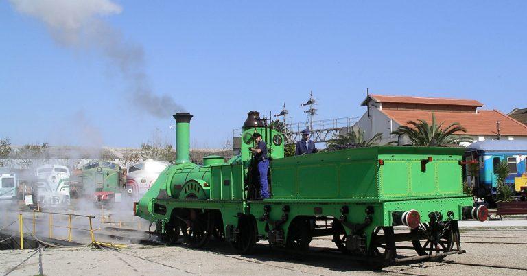 Locomotora Mataró fotografiada en Vilanova por Nils Öberg.