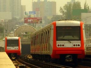 Los trenes de CAF-Thales serán de gálibo ancho y ruedas de acero, al igual que los AS-2002 fabricados por Alstom para la línea 4 del metro de Santiago. Foto: Ariel Cruz Pizarro.