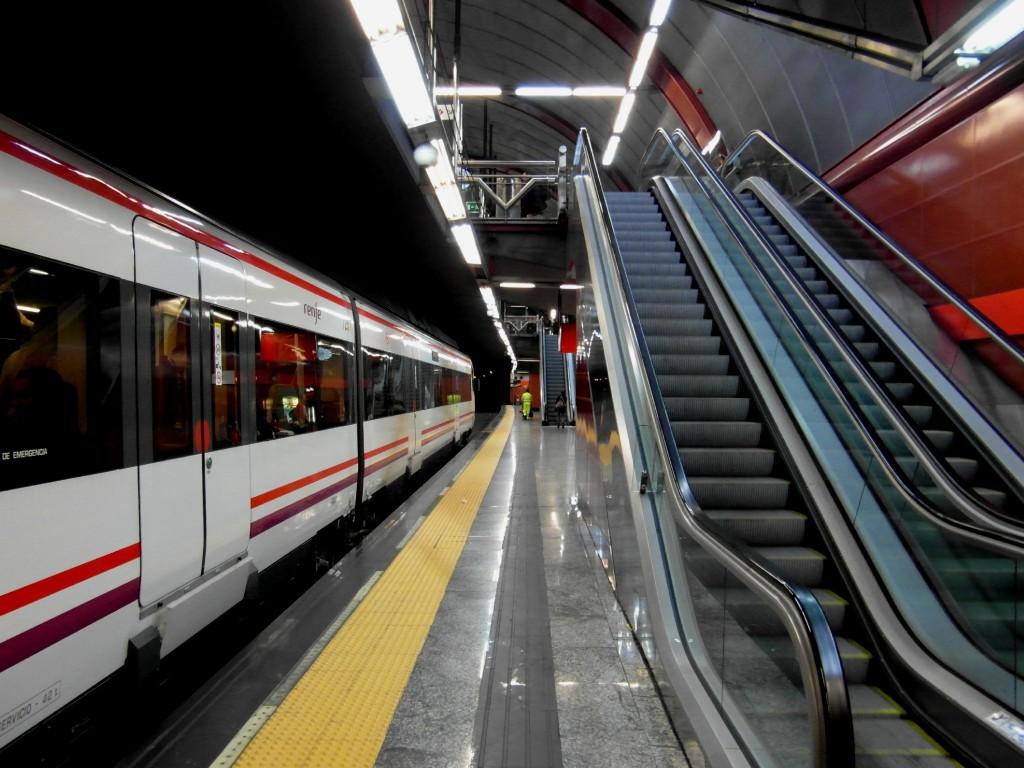 Entre el 18 y el 22 de agosto la C-3 y C-4 de Cercanías Madrid sufrirán alteraciones por obras. Foto: IngolfBLN