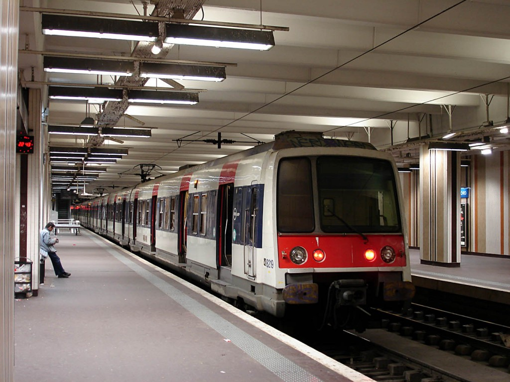 La línea RER B de París está siendo la más afectada por la huelga en SNCF. En la imagen, un MI 79 en la Gare du Nord. Foto: Clicsouris.