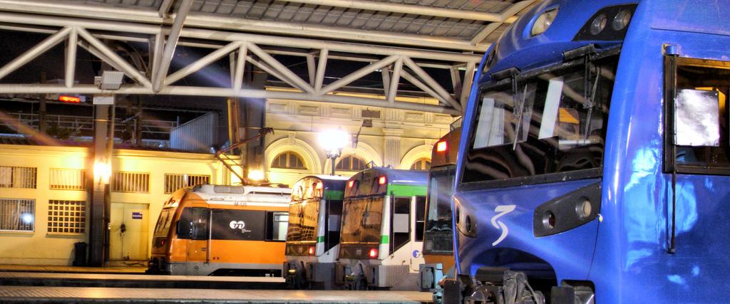 Metrotren mejora su servicio en Santiago de Chile