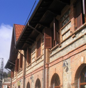 Foto de la estación de Cercedilla, destino del tren de Hacia las montañas. Foto de Miguel303xm