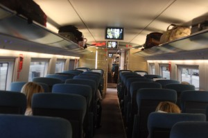 Tren larga distancia vs. avión