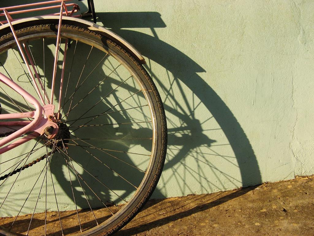 Aparcamiento para bicicletas en el Metro de Sevilla
