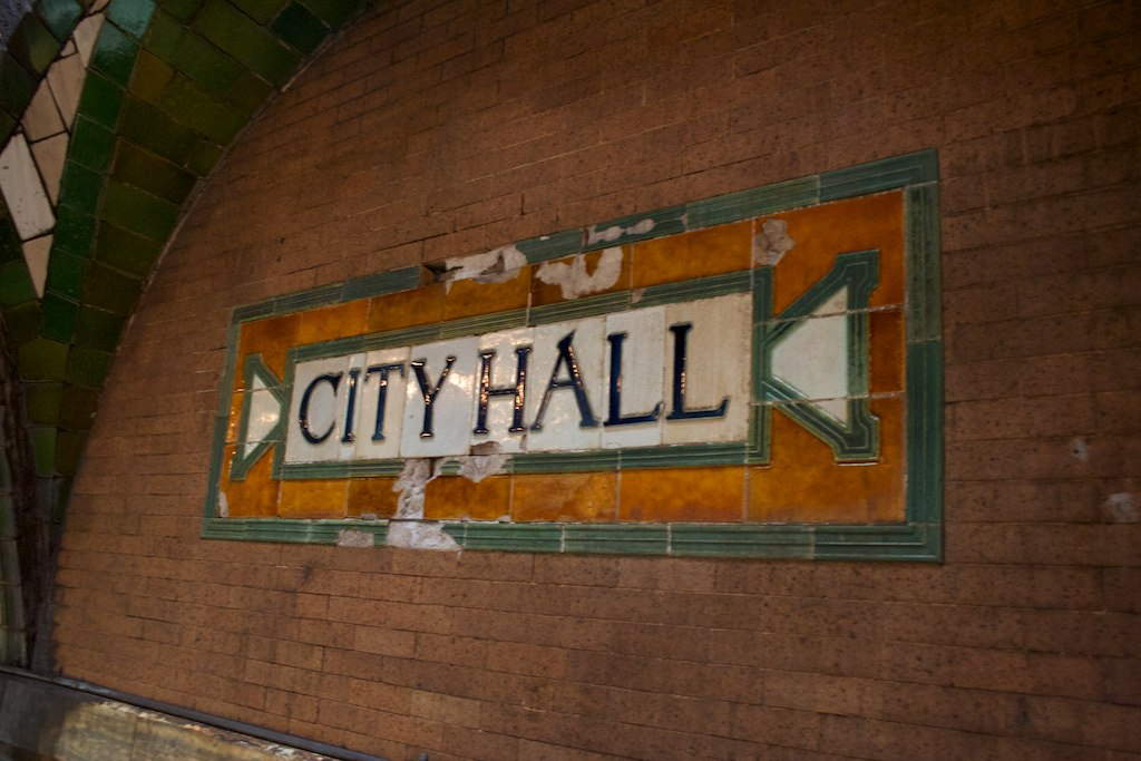 City Hall, estación fantasma en Nueva York