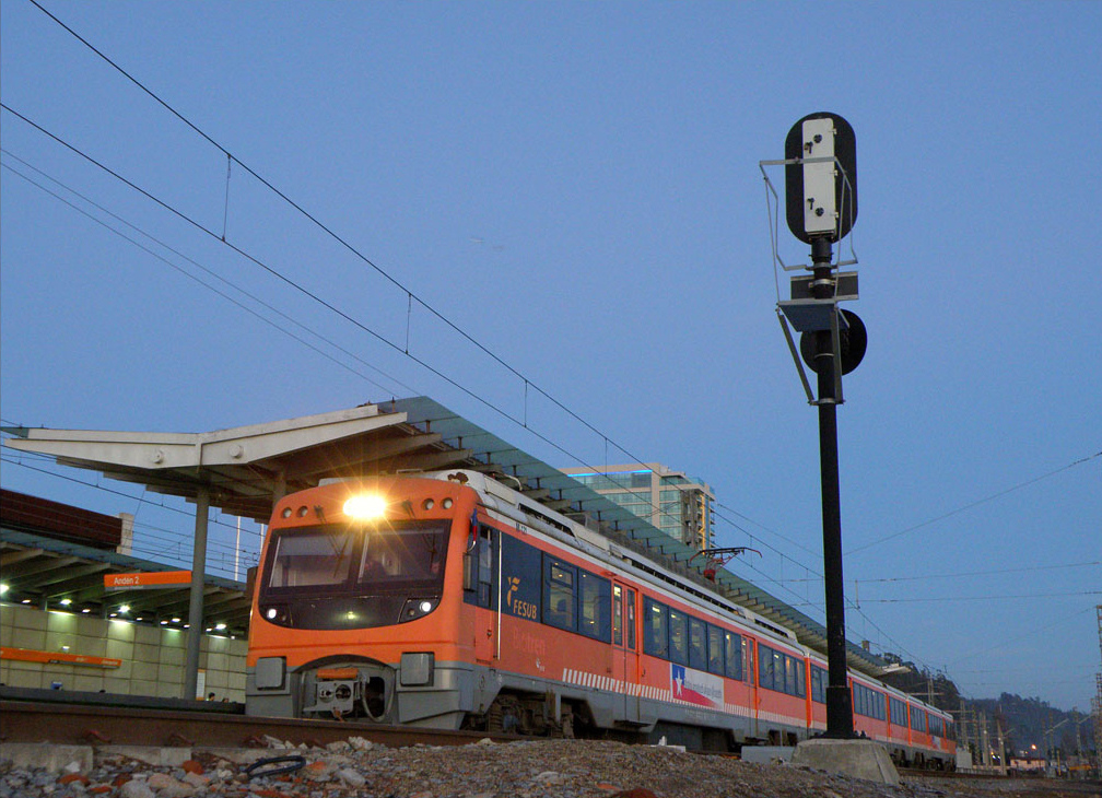 La nueva estación de Alborada se incorpora a la red ferroviaria del Biotrén.
