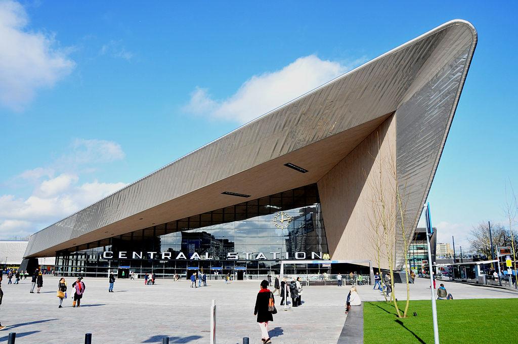 Reinauguración de la Estación Central de Rotterdam.