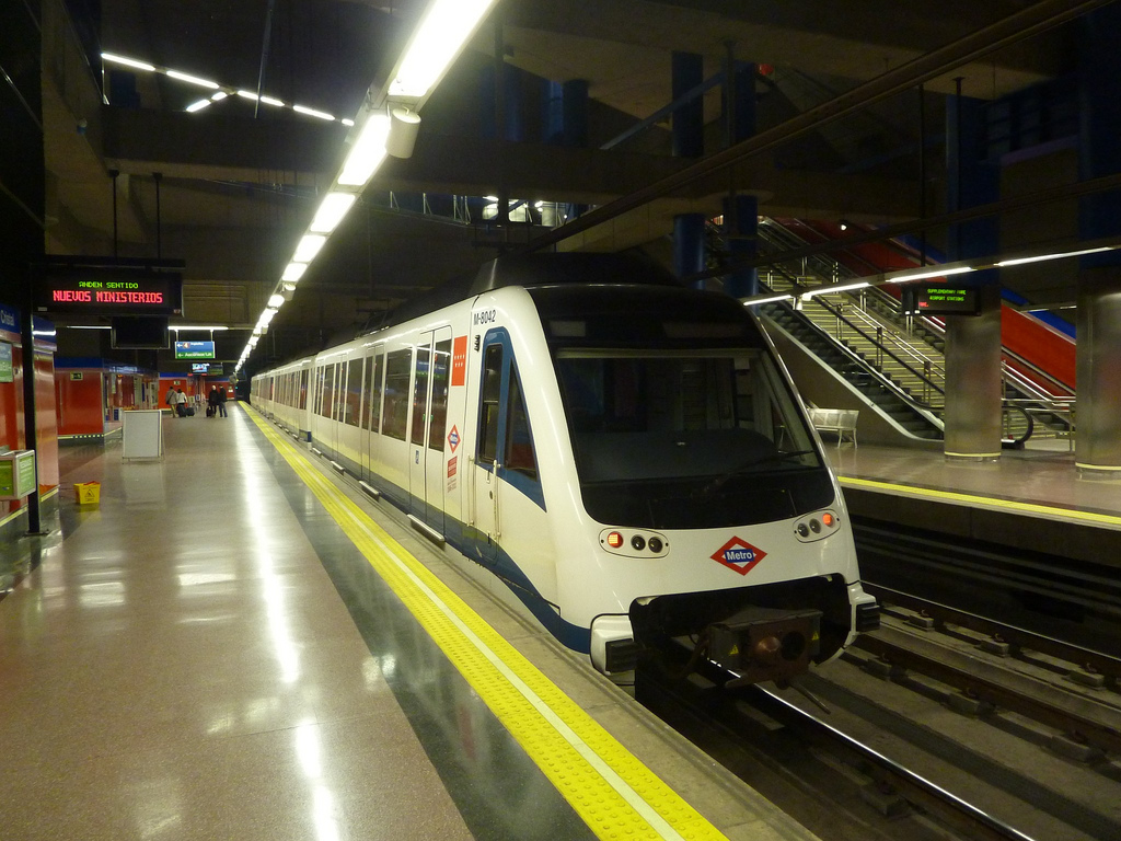 Incidencias Metro de Madrid