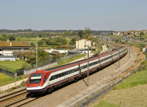 Línea Lisboa-Oporto extranjeros.