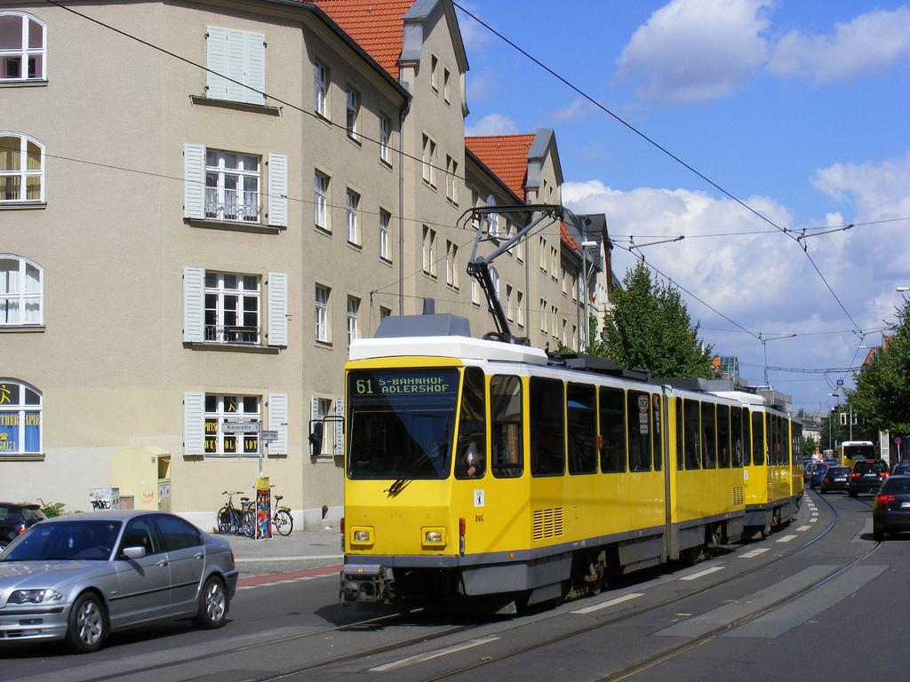 Ejemplo de hilo tranviario en Berlín. Foto: Sludge G.