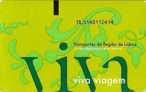 Tarjeta Viva Viagem. Foto: Henesneto500