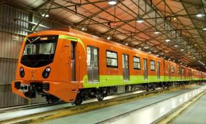 Estos son los trenes que CAF construyó para la línea 12 del metro de Ciudad de México.