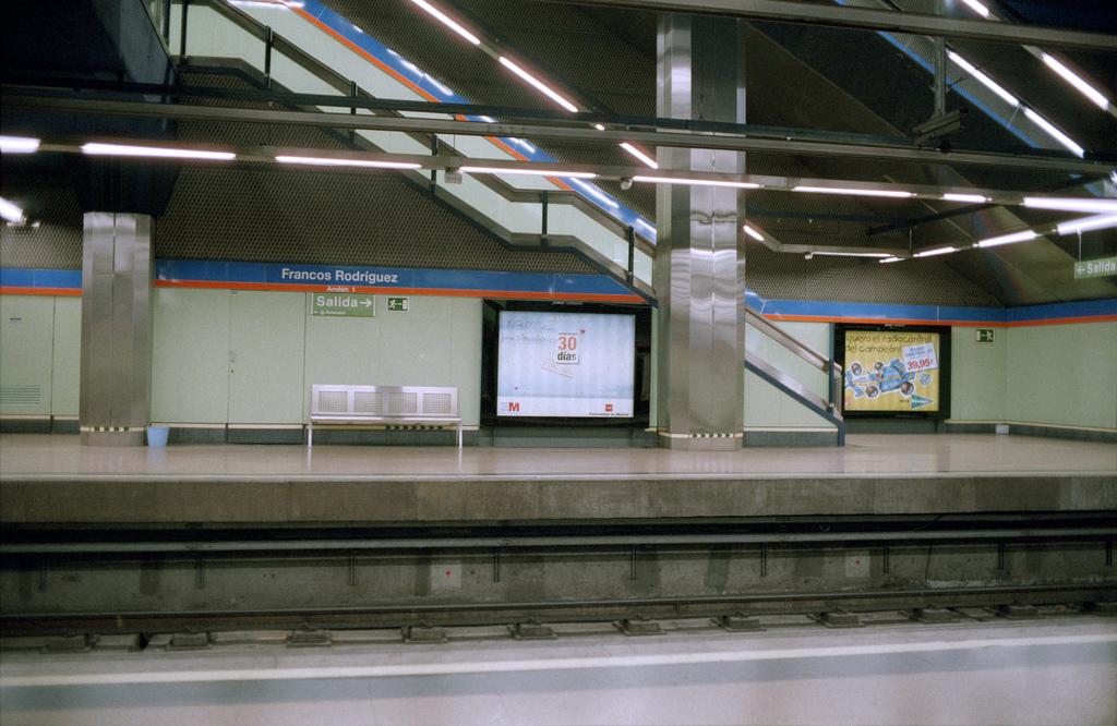 Metro de Madrid sustituye su fluorescentes por LED