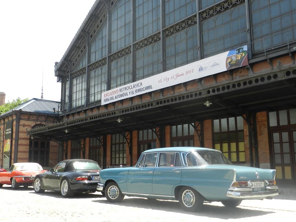 Exclusivo Retroclásica inundará el Museo del Ferrocarril de Madrid con más de 100 automóviles clásicos.