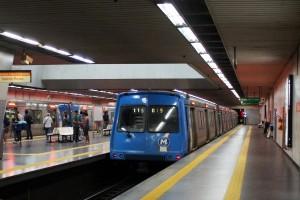 Tren del metro de Río de Janeiro en la estación Central. Foto: Mario Roberto Duran Ortiz.