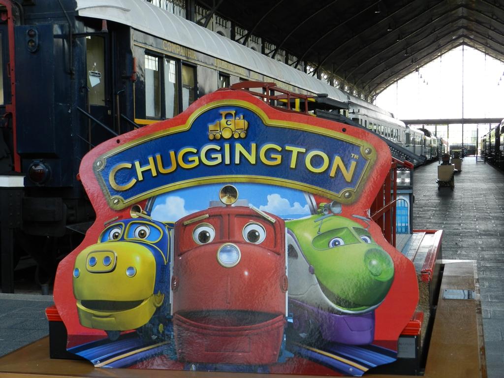 El Museo del Ferrocarril de Madrid acoge estas actividades ambientadas en el universo Chuggington hasta el 31 de julio.