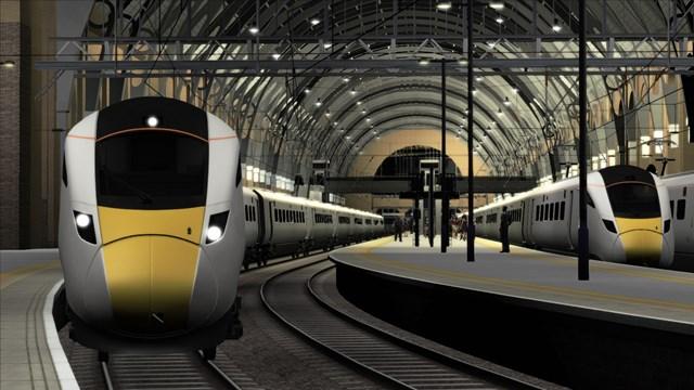 La clase 801 de los ferrocarriles británicos será una de las novedades. Imagen © Dovetail Games 2013.