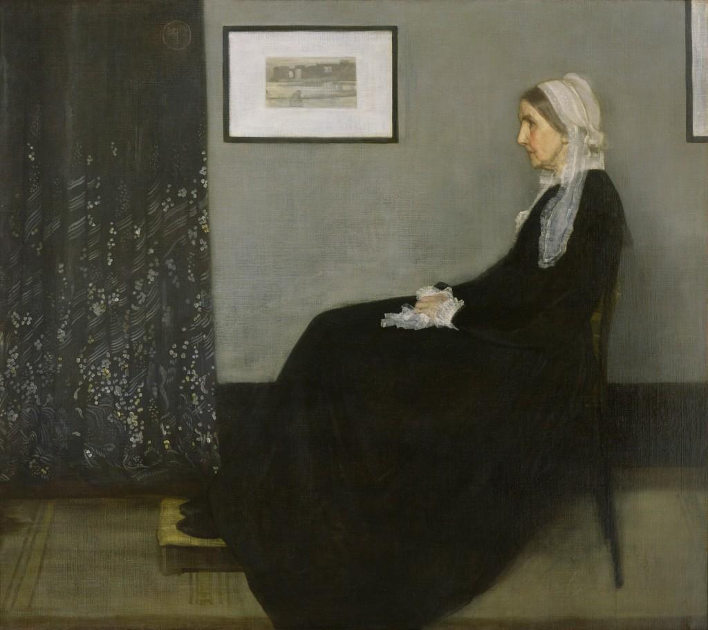 Arreglo en gris y negro n.º 1, más conocido como La madre de Whistler, pintado por James McNeill Whistler en 1891.