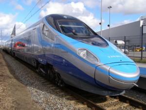 Los Pendolinos de PKP Intercity circularán en principio a un máximo de 200km/h.