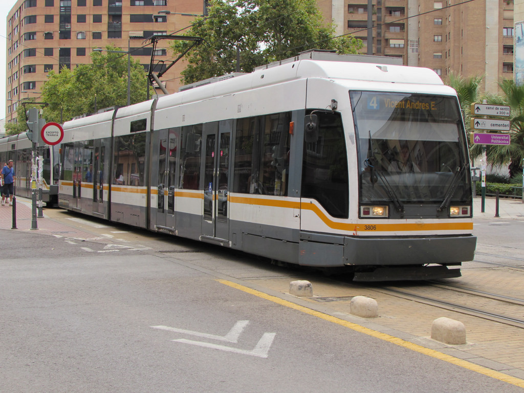 Tanto MetroValencia como el TRAM de Alicante preparan una jornada especial con motivo del Día Europeo sin Coche.