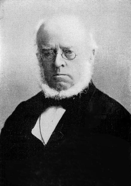 Retrat de Adolph von Menzel, uno de os grandes pintores alemanes del SXIX.