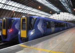Diseño de los trenes que Hitachi construirá para ScotRail a petición de Abellio.