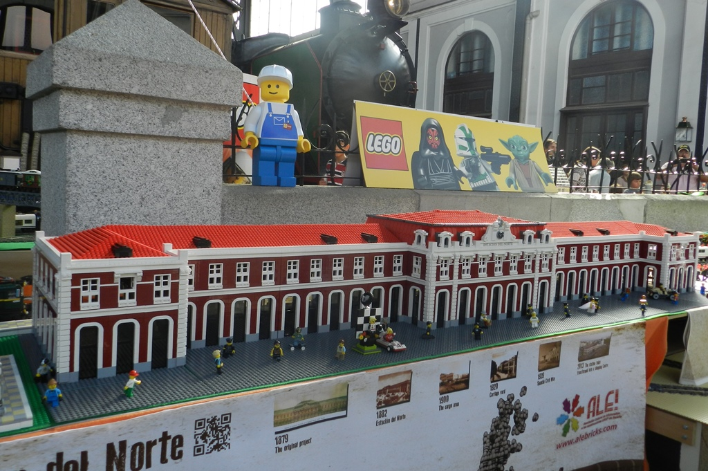 Le estación de Príncipe Pío de ALE!, una de las joyas de la corona de la Asociación.