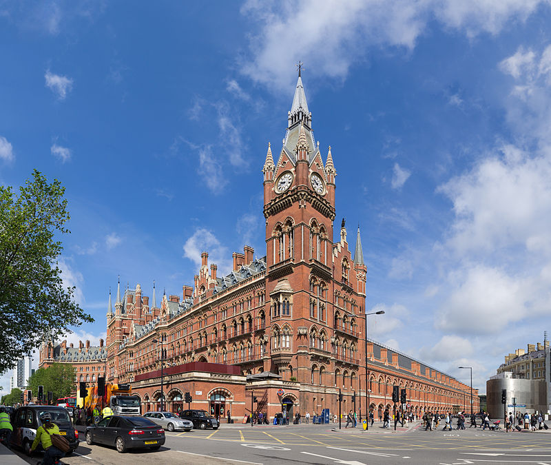 La estación de St. Pancras fue diseñada por William Henry Barlow
