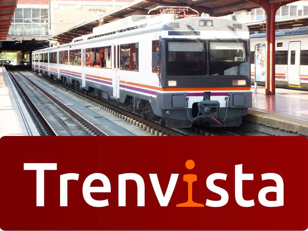 Unidad de Tren 470 en la estación de Chamartín