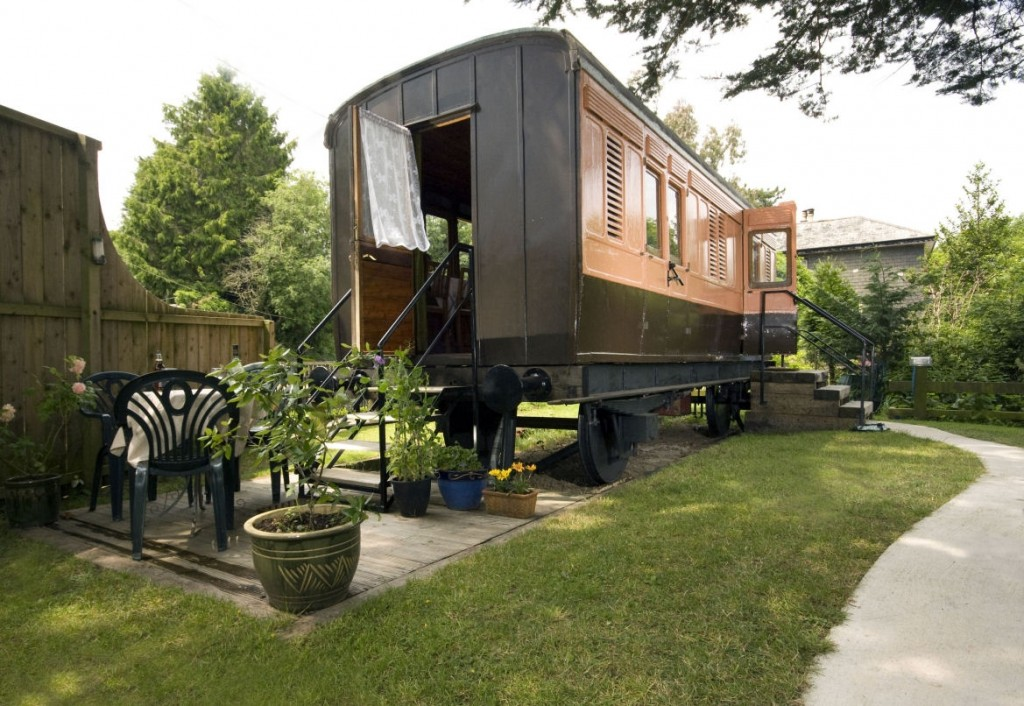 Mi casa es un vagón de tren