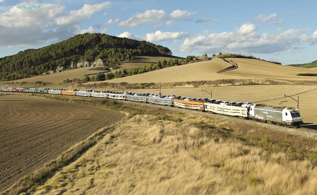 Con la llegada del primer tren internacional de automóviles de 700m, el transporte de coches por ferrocarril se vuelve más competitivo.