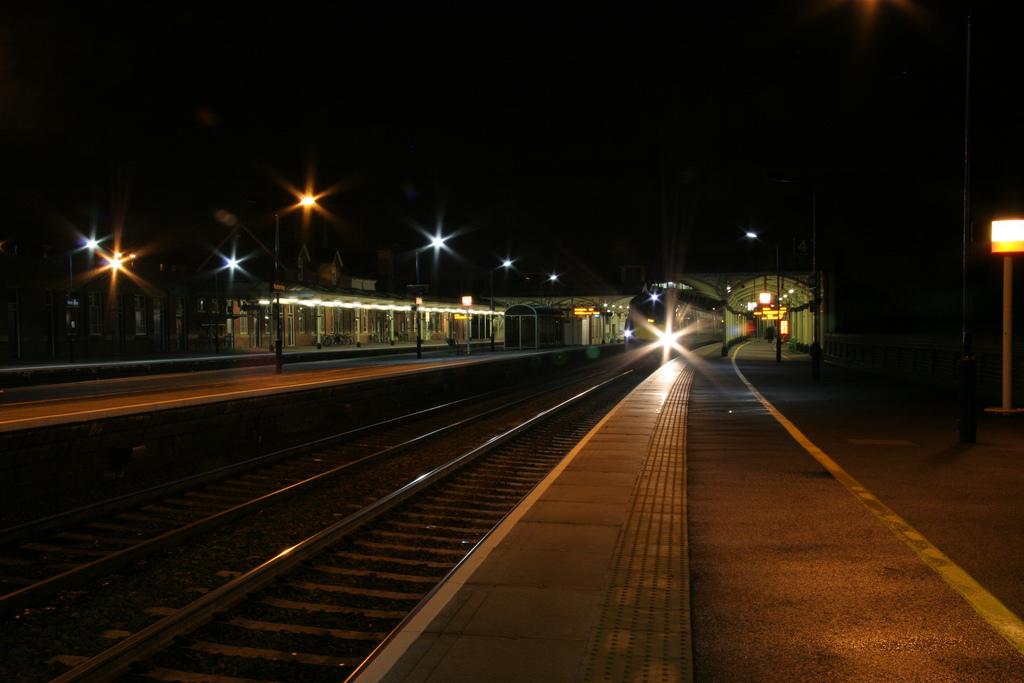 Europa ya no apuesta por los trenes nocturnos. Foto: Luke Westall.