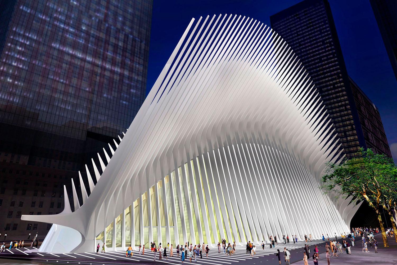 Imagen del proyecto de la estación de Calatrava una vez añadidas las modificaciones de seguridad.