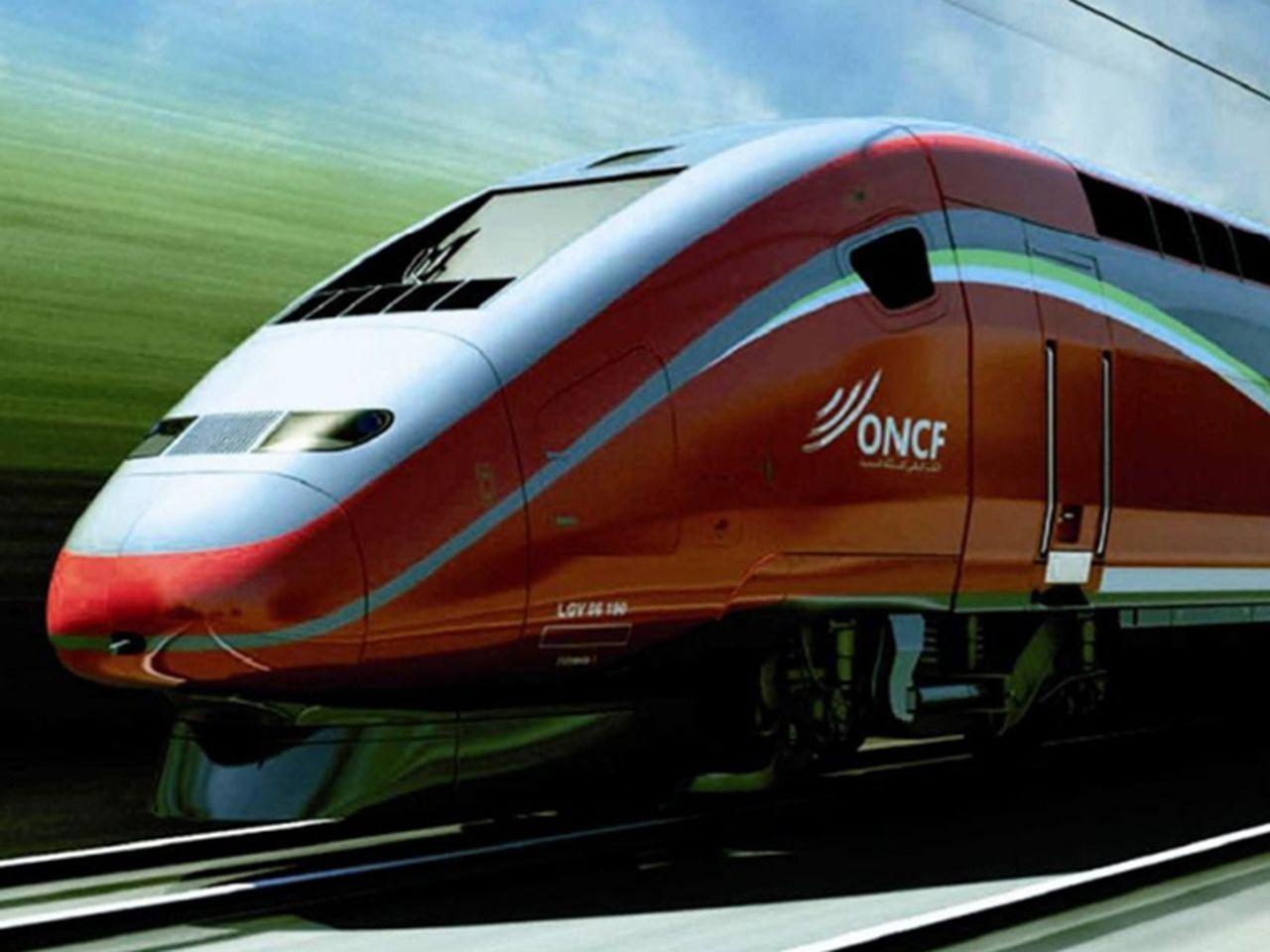 Imagen del futuro TGV de Marruecos. Foto: Vonattal? Természetesen!.