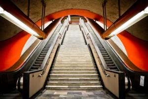 Metro de México, contra la obesidad en la nueva campaña del Ministerio de Sanidad Pública. Foto: Óscar Juárez.