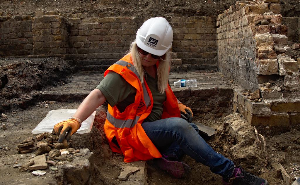 Crossrail ha instalado puntos de excavación arqueológica en cada una de las obras principales. Foto: rich_pickler.