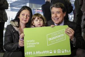 Imagen de la nueva tarjeta que permitirá a los niños de hasta 6 años viajar gratis en la red de transporte público de Madrid. Foto: ©Metro de Madrid.