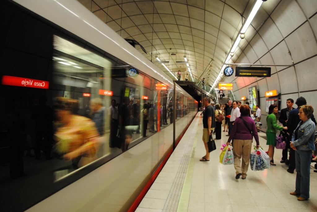 La nueva estación de Casco Viejo está concebida como un intercambiador. Foto: Bilbao Kultur Lab.