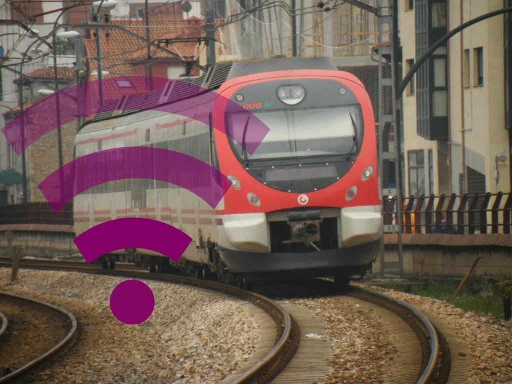 Las estaciones de Cercanías Renfe tendrán WiFi publico en 2015. Foto: Savh.