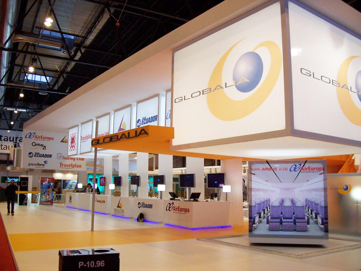 Globalia, última en conseguir la licencia de operador ferroviario para optar a ser la competencia de Renfe. Foto: Diseño Stands.