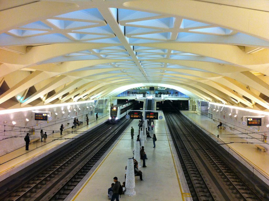 Las nuevas plataformas dotarán de mayor accesibilidad a la red de Metrovalencia. Foto: Carlos Beleña.
