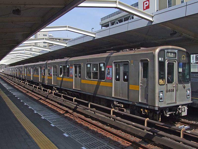 Imagen de los serie 5000 de Nagoya que ha comprado el Subte de Buenos Aires. Foto: 利用者:あみでん