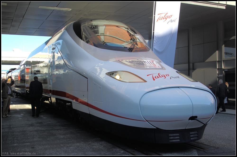 El nuevo contrato de suministro de trenes Talgo en arabia Saudí es muy simbólico tras la tensión vivida con el proyecto del AVE a La Meca. Foto: Tegeler.