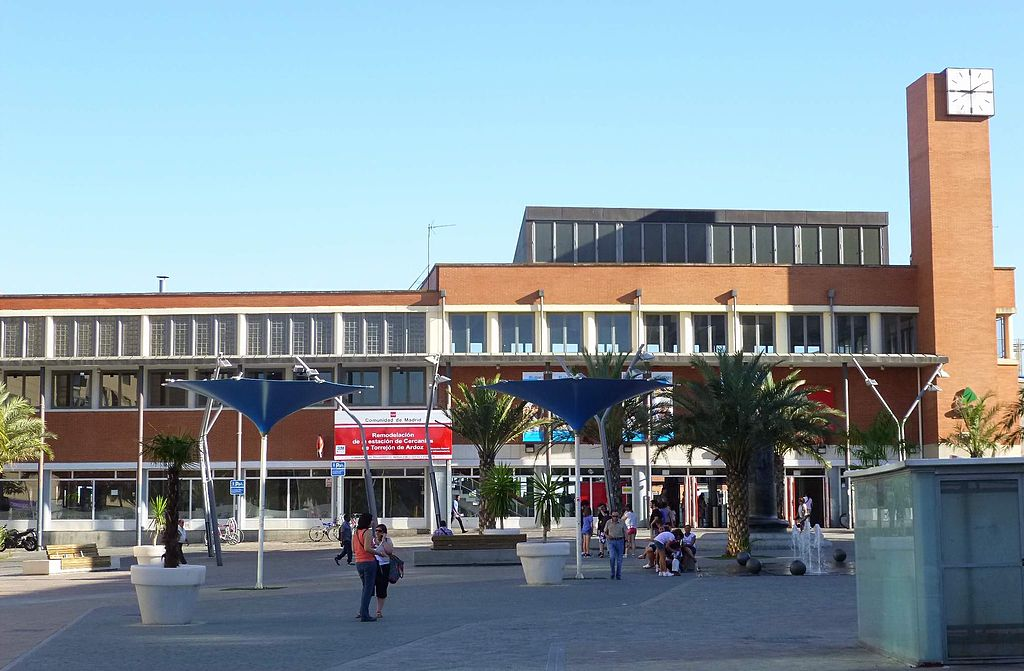 La estación de Torrejón de Ardoz inaugura su primera remodelación en los últimos 23 años. Foto: Zarateman.