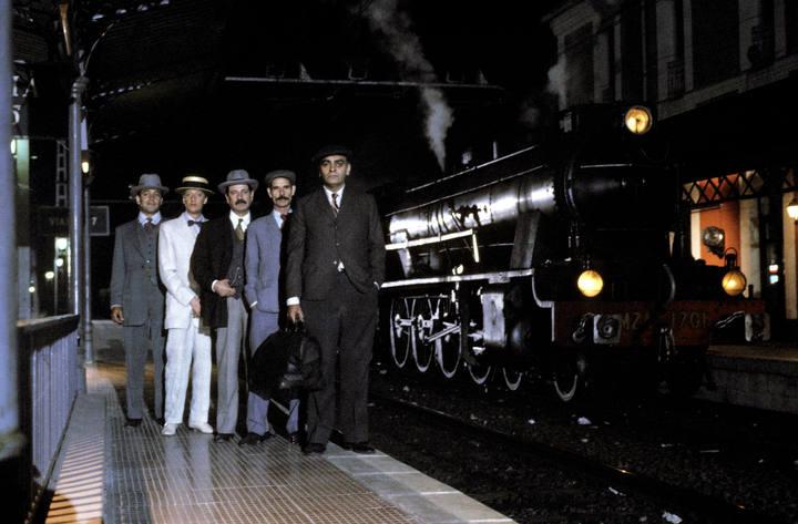 El robo del Expreso de Andalucía se llevó al cine. Foto: Sierra Norte Digital.