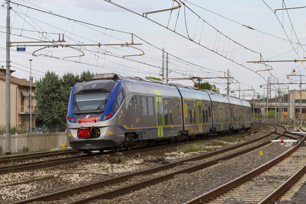 Trenitalia pide a Alstom más unidades del modelo Jazz. Foto: Nicola Mangialardo.