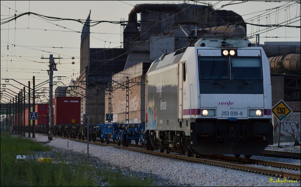El proceso de búsqueda de un socio industrial por parte de Renfe Mercancías podría empezar esta misma semana. Foto: Furby Trenes.